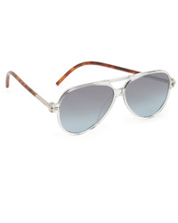 Gafas de sol plateadas de Marc Jacobs