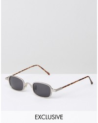 Gafas de sol plateadas de Reclaimed Vintage