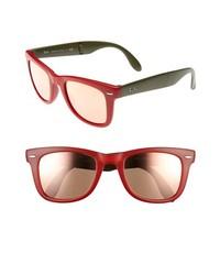 Gafas de sol rojas