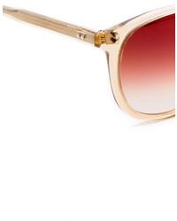 Gafas de sol rojas de Garrett Leight