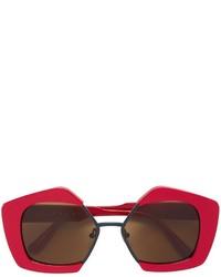 Gafas de sol rojas de Marni