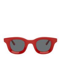 Gafas de sol rojas de Rhude