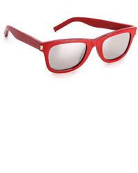 Gafas de sol rojas de Saint Laurent