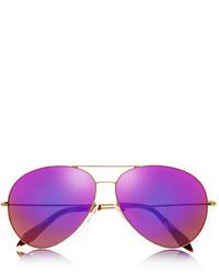 Gafas de sol rosa de Victoria Beckham