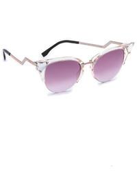 Gafas de sol rosadas de Fendi