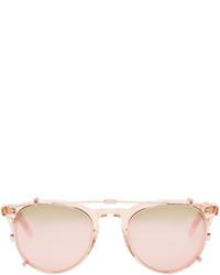 Gafas de sol rosadas de Garrett Leight