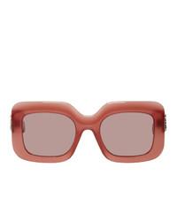 Gafas de sol rosadas de Loewe