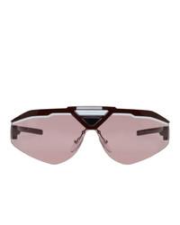 Gafas de sol rosadas de Prada