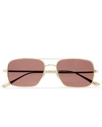 Gafas de sol rosadas de The Row