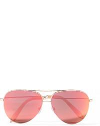 Gafas de sol rosadas de Victoria Beckham