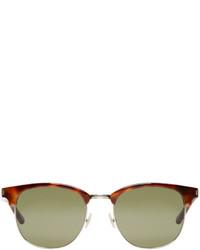 Gafas de sol verde oliva de Saint Laurent