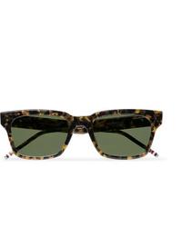 Gafas de sol verde oliva de Thom Browne