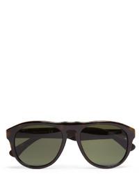 Gafas de sol verde oliva de Tod's