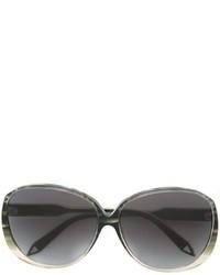 Gafas de sol verde oliva de Victoria Beckham