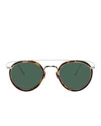 Gafas de sol verde oscuro de Eyevan 7285