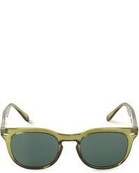 Gafas de sol verde oscuro