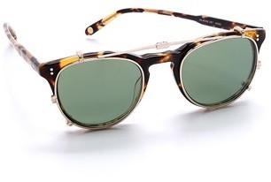 Gafas de sol verde oscuro de Garrett Leight