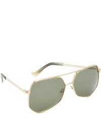 Gafas de sol verde oscuro de Grey Ant