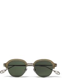 Gafas de sol verde oscuro de Gucci