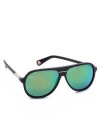 Gafas de sol verde oscuro de Marc Jacobs