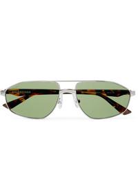 Gafas de sol verdes de Balenciaga