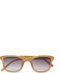 Gafas de sol violeta claro de Oliver Spencer