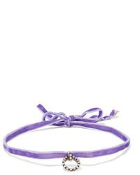Gargantilla violeta claro de Dannijo