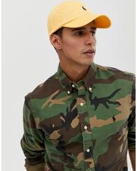 Gorra de béisbol amarilla de Polo Ralph Lauren