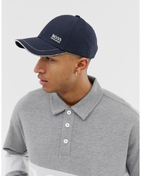 Gorra de béisbol azul marino de BOSS