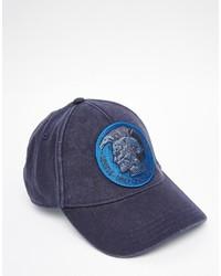 Gorra de béisbol azul marino de Diesel
