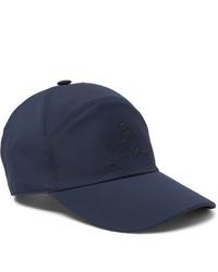 Gorra de béisbol azul marino de Loro Piana