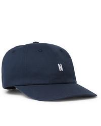 Gorra de béisbol azul marino de Norse Projects