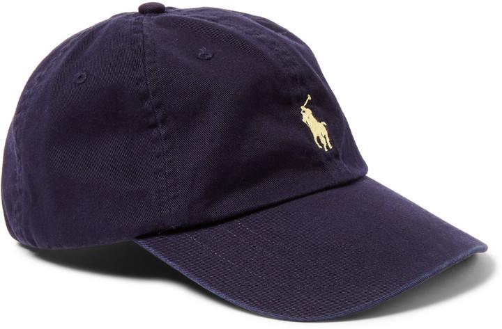 ... Gorra de béisbol azul marino de Polo Ralph Lauren ... be52c545bd3