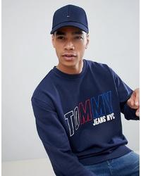 Gorra de béisbol azul marino de Tommy Hilfiger