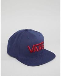 Gorra de béisbol azul marino de Vans