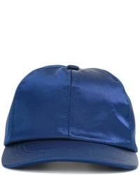 Gorra de béisbol azul de AMI Alexandre Mattiussi