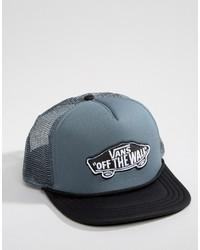 Gorra de béisbol azul de Vans