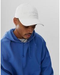 Gorra de béisbol blanca de Emporio Armani