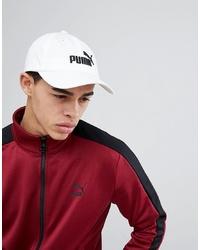 Gorra de béisbol blanca de Puma