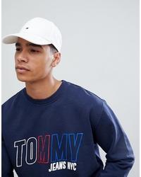 Gorra de béisbol blanca de Tommy Hilfiger