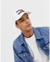 Gorra de béisbol blanca de Tommy Jeans
