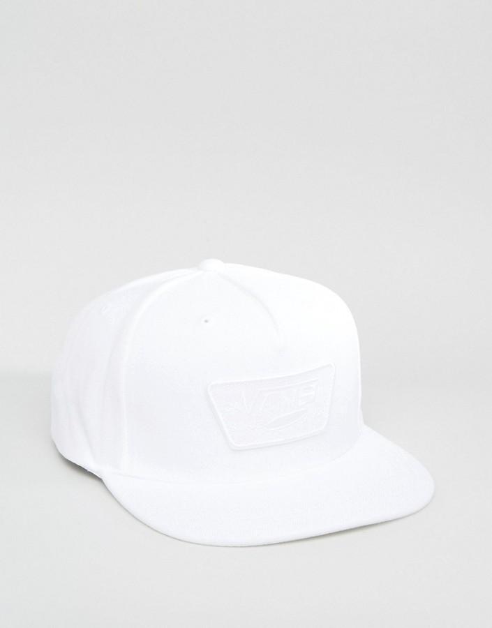 ... Gorra de béisbol blanca de Vans ... 6acccb8be5f