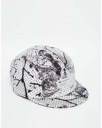Gorra de béisbol de camuflaje negra de adidas