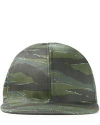 Gorra de béisbol de camuflaje verde oscuro de A.P.C.