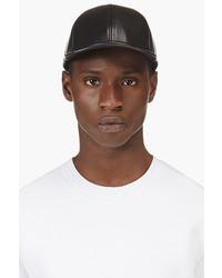 Gorra de Béisbol de Cuero Negra de Marc by Marc Jacobs
