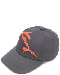 Gorra de béisbol en gris oscuro de Kenzo