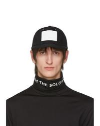 Gorra de béisbol en negro y blanco de TAKAHIROMIYASHITA TheSoloist.