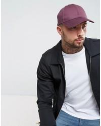 Gorra de béisbol en violeta de Asos