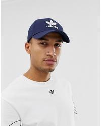 Gorra de béisbol estampada azul marino de adidas Originals
