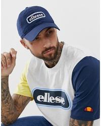Gorra de béisbol estampada azul marino de Ellesse